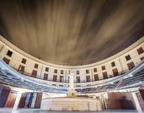 Plaza Redonda, δημόσια στρογγυλή τετραγωνική μακροχρόνια έκθεση στη Βαλένθια Στοκ φωτογραφίες με δικαίωμα ελεύθερης χρήσης