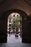 Plaza Reial 2 Stock Photography