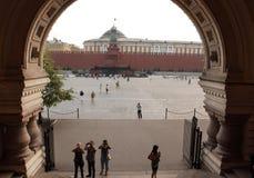 Plaza Roja en Moscú Imagenes de archivo