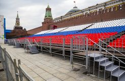 Plaza Roja en Moscú, Rusia fotografía de archivo libre de regalías