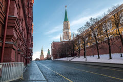 Plaza Roja en Moscú, Rusia Imagen de archivo libre de regalías
