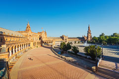 plaza Séville de de espana Photo libre de droits