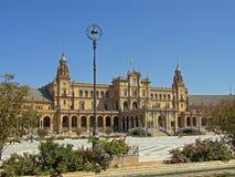 plaza séville de de espana Image libre de droits