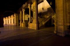 plaza séville Espagne d'espagna de groupe de d Photographie stock libre de droits