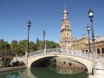 plaza séville Espagne de de espana Images libres de droits