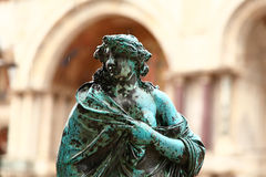 plaza SAN Βενετία marco στοκ εικόνες