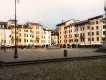 Plaza San Giacomo, Udine, Italia Fotos de archivo libres de regalías