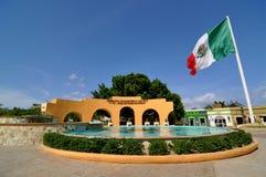 Plaza San Jose Del Cabo Messico Fotografie Stock