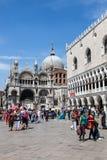 Plaza San Marco Fotografía de archivo