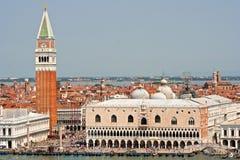 Plaza San Marco Imágenes de archivo libres de regalías