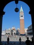 Plaza San Marco Fotografía de archivo libre de regalías