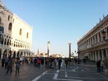 Plaza San Marco Imagen de archivo libre de regalías