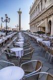 Plaza San Marco en Venecia Foto de archivo libre de regalías