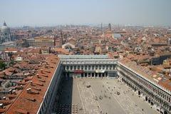 Plaza San Marco en Venecia imágenes de archivo libres de regalías