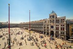 Plaza San Marco, Venecia, Italia Fotos de archivo