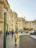Plaza SAN Martin στο της Λίμα Περού Στοκ Φωτογραφίες
