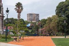 Plaza San Martin Buenos Aires Fotografia Stock Libera da Diritti