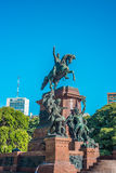 Plaza San Martin in Buenos Aires, Argentina. Stock Photo