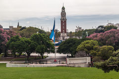 Plaza San Martin Buenos Aires royalty free stock photos