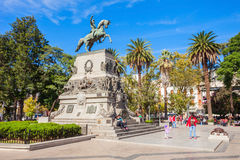 Plaza San Martin, Cordoba Royalty Free Stock Images