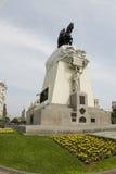 Plaza san martin statue lima peru Royalty Free Stock Images