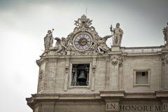 Plaza San Pedro, Vaticano, Italia Fotografía de archivo libre de regalías