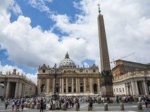Plaza San Pietro, Vatican Royalty Free Stock Photography