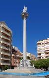 Plaza SAN Rafael, Fuengirola, Ισπανία. Στοκ Φωτογραφία