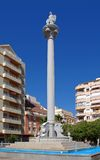 Plaza San Rafael, Fuengirola, Spagna. Fotografia Stock