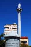 Plaza San Rafael, Fuengirola, Spagna. Immagini Stock Libere da Diritti