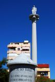Plaza San Rafael, Fuengirola, Spain. Royalty Free Stock Images