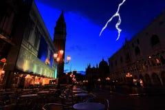 plaza san Venise de marco Photo libre de droits