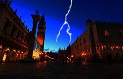 plaza san Venise de marco Images libres de droits