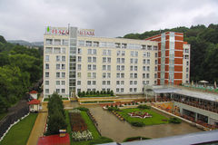 Plaza Sanatorium in Kislovodsk Royalty Free Stock Photography