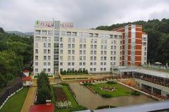 Plaza Sanatorium in Kislovodsk Royalty Free Stock Photography