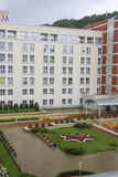 Plaza Sanatorium in Kislovodsk Stock Photo