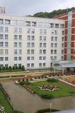Plaza Sanatorium in Kislovodsk Stock Photo