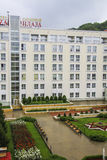 Plaza Sanatorium in Kislovodsk Stock Image