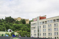 Plaza Sanatorium in Kislovodsk Royalty Free Stock Photos