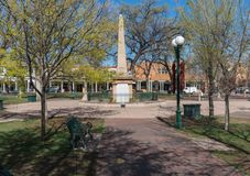 A plaza, Santa Fe, New mexico imagem de stock royalty free