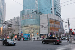 Plaza 66 Royalty Free Stock Photo
