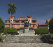plaza Simon Bolivar na Panamá rpublic Imagens de Stock