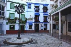 Plaza spagnola (Almuñecar, Granada) Fotografia Stock