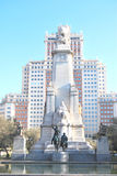 Plaza of Spain in Madrid Stock Photo