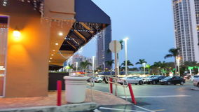 Plaza Sunny Isles Beach FL de RK almacen de video