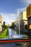 Plaza Tapatia with fountain in Guadalajara, Mexico Stock Photography