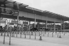 Plaza Tol σε Putrajaya, Μαλαισία Στοκ εικόνες με δικαίωμα ελεύθερης χρήσης