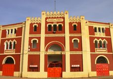 Plaza Toros. In Mérida, Spain royalty free stock image