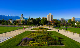 The plaza of Utah State Capitol Stock Photo