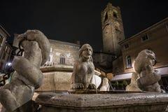 Plaza Vecchia Imágenes de archivo libres de regalías